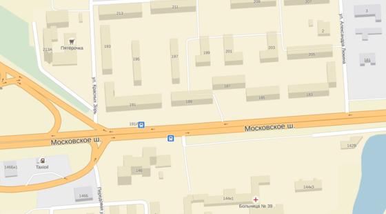 Карта города Нижний Новгород